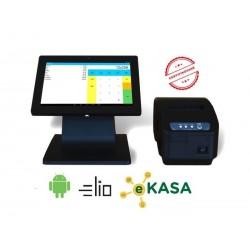 Dotyková pokladňa elio POS 100 + XP-58IIK + elio Kasa aplikácia - certifikované