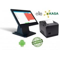 Dotyková pokladňa elio POS 140 + XP-Q800 + elio Kasa aplikácia - certifikované
